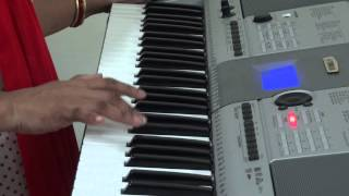 Pankh hote to Ud Aati re on piano