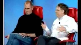 Steve Jobs and Bill Gates Together  Part 1