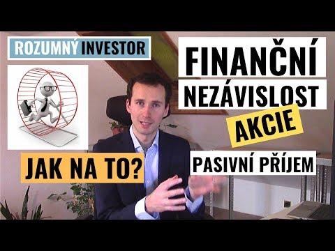 Jak dosáhnout finanční nezávislost - Akcie - Pasivní příjem - Dividendy | Základní principy