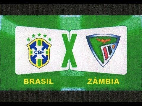 Brasil 2 x 0 Zambia - amistoso Internacional 15/10/2013 -  Jogo Completo