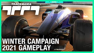 Trackmania: Free Winter Campaign Gameplay | Ubisoft [NA]
