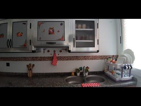 جولة في مطبخي المتواضع مع طريقتي في التنظيم/tour cuisine/kitchen tour