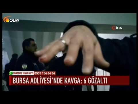 Bursa Adliyesi'nde kavga: 6 gözaltı