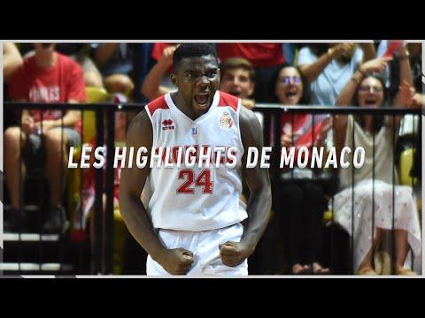Les Highlights de la saison de l'AS Monaco Basket
