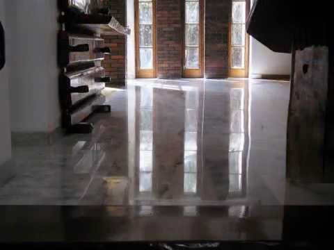 Renovation of renewing the marble granite travertine. Cleaning and maintenance of floors and stairs.