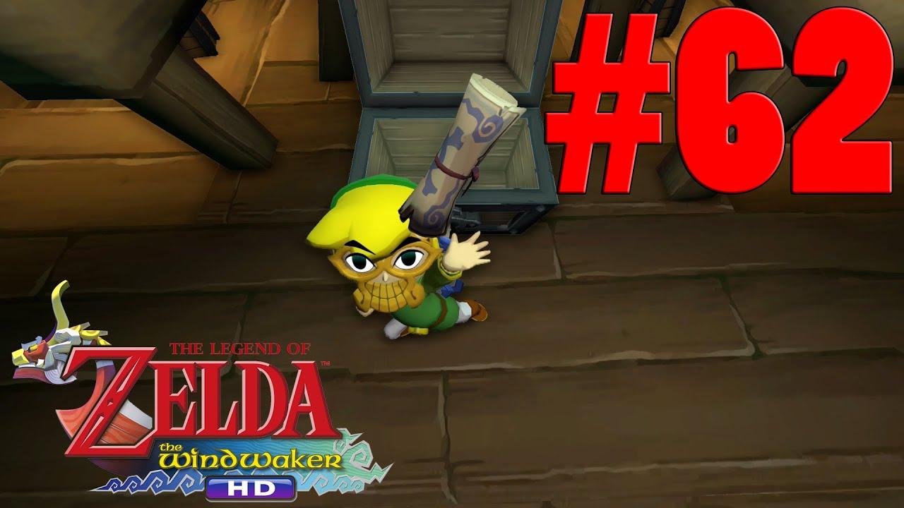 The Legend Of Zelda Wind Waker Hd Part 62 Ghost Ship Chart