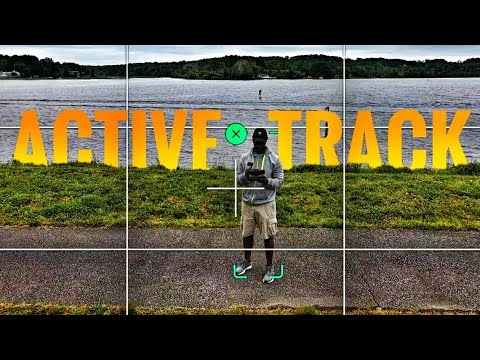 DJI Mavic Air 2 Active Track Test - I'm Impressed