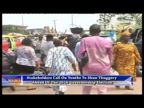 Edo 2016: stakeholders call on youths to shun thuggery