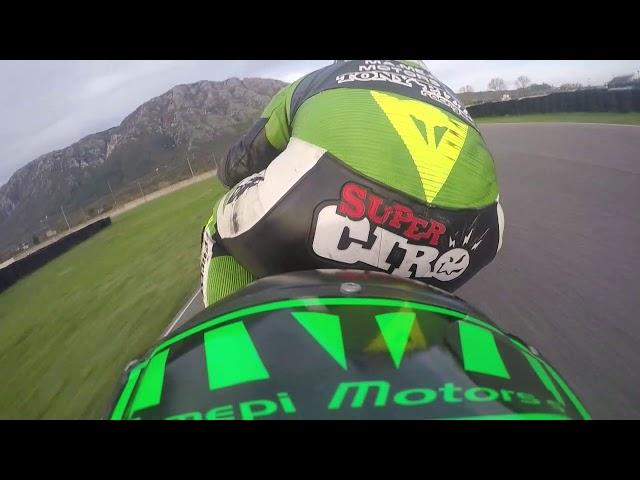Ciro Pizzo Airola Test 23/11/19 Kawasaki Ninja ZX636R 2019