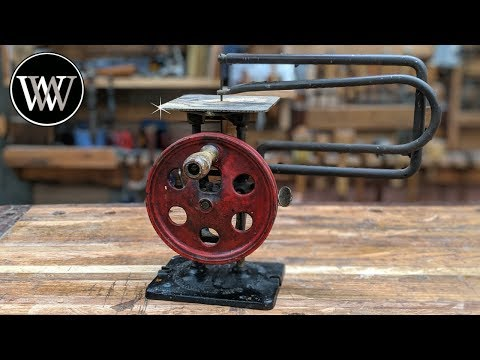 Hand Powered Scroll Saw From the 1920s