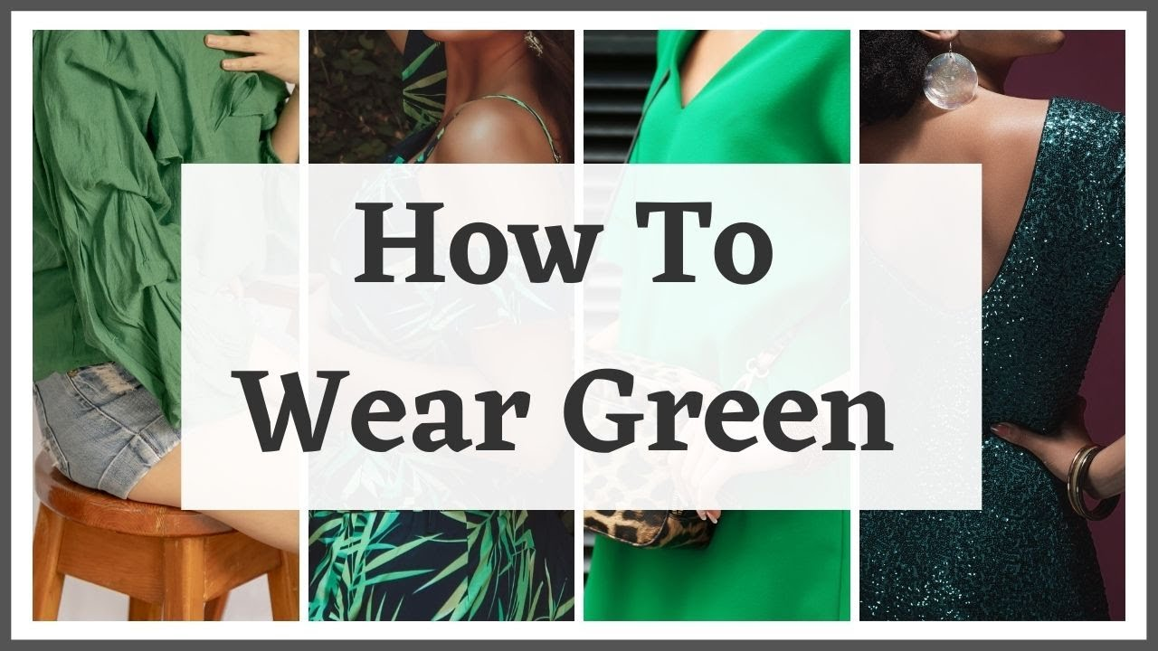 How To Wear Green This Paddy's Day (Or any other day!)