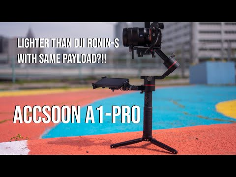 Hyper-Lapse | Gimbal Test | Accsoon A1-S | Pro Stabilizer | Night