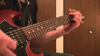 MOTLEY CRUE-RAISE YOUR HANDS TO ROCK-RHYTHM GUITAR