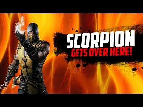 Scorpion is in this Game?!?!?!  Super Smash Flash 2