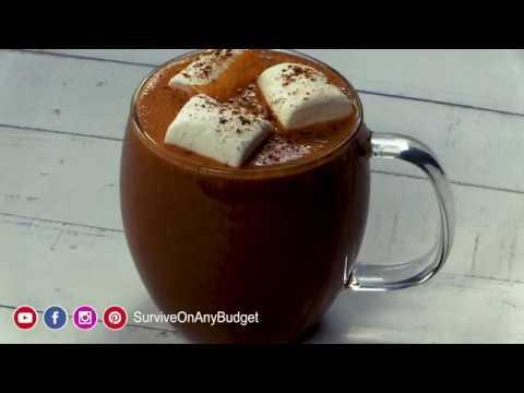 Ultra Rich Homemade Hot Chocolate - YouTube