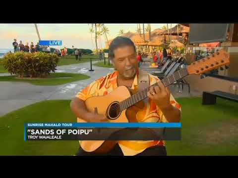 Troy Waialeale  KHNL Appearance