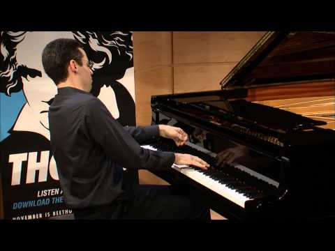 Jonathan Biss: Beethoven Sonata No  12 in A flat Major, Op