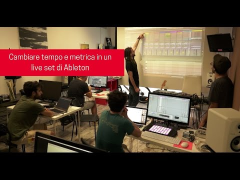 Ableton Live Tutorial ITA: Cambiare tempo e metrica in un live set w/Andrea Messina