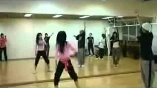 By2 Twins practice dancing