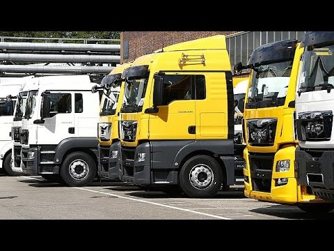 Europe's lorry manufacturers hit with €3 billion fine for price-fixing