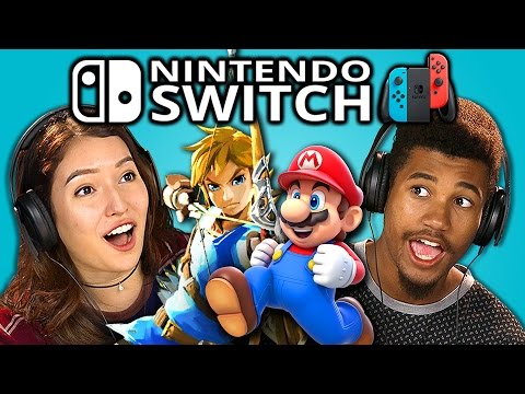 Thumbnail: TEENS REACT TO NINTENDO SWITCH (TRAILERS)