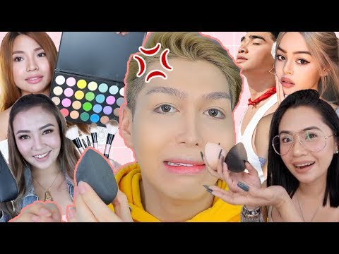FULL FACE USING ONLY FILIPINO INFLUENCERS PRODUCTS!!! (ANNE CLUTZ, ANNA CAY, MICHELLE DY! ETC.) thumbnail