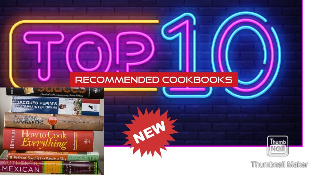 Top 10 Recommended Cookbooks