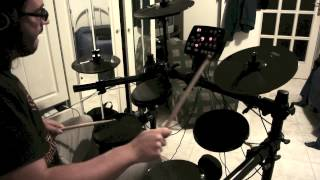 Alfio - Little Hospitals ( Biffy Clyro ) - Electronic Drum Cover