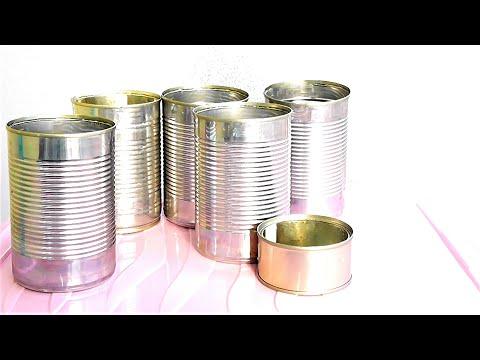 Поделки из алюминиевых банок своими руками видео