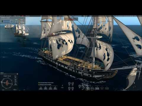 HMS Avenger Saves Jamaica from Danish Assault! Raw Video