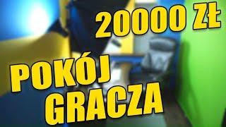 STANOWISKO GAMINGOWE ZA 20000 ZŁOTYCH! - HOGATY YOUTUBE ROOM