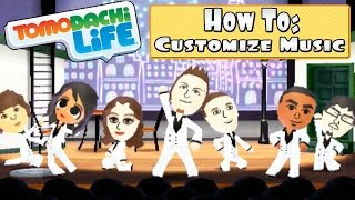 Tomodachi Life 3DS - How To Customize Music in Concert Hall + All 8 Songs!