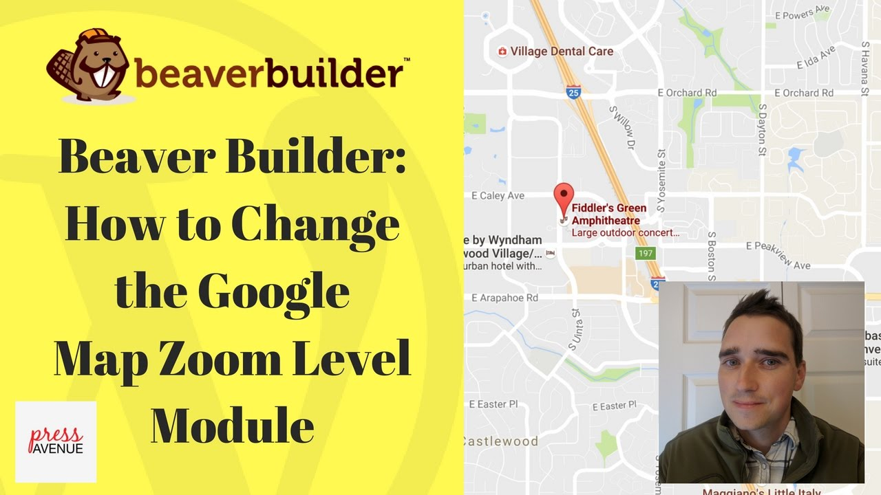 Beaver Builder Change Google Map Zoom Level Module In Wordpress