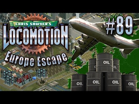 Chris Sawyer's Locomotion: Europe Escape - Ep. 89: OILY AIRPORTS