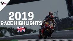 MotoGP Race Highlights   2019 #BritishGP