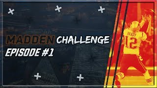 TB12 Challenge| Can Tom Brady Catch for a TD?| Madden 18 Challenge Episode #1