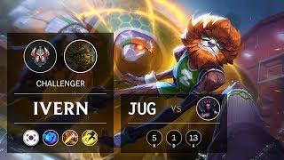 Ivern Jungle vs Elise - KR Challenger Patch 910