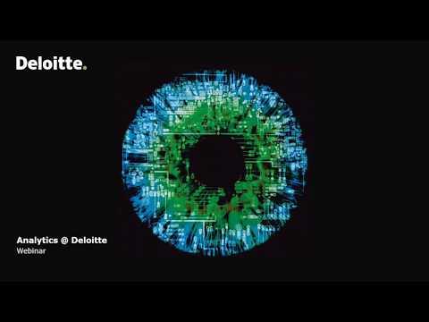 Deloitte Stay in Touch Community Webinar Analytics @ Deloitte