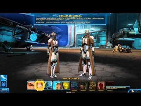 Let's play star wars the old républic épisode 1 partie 1.