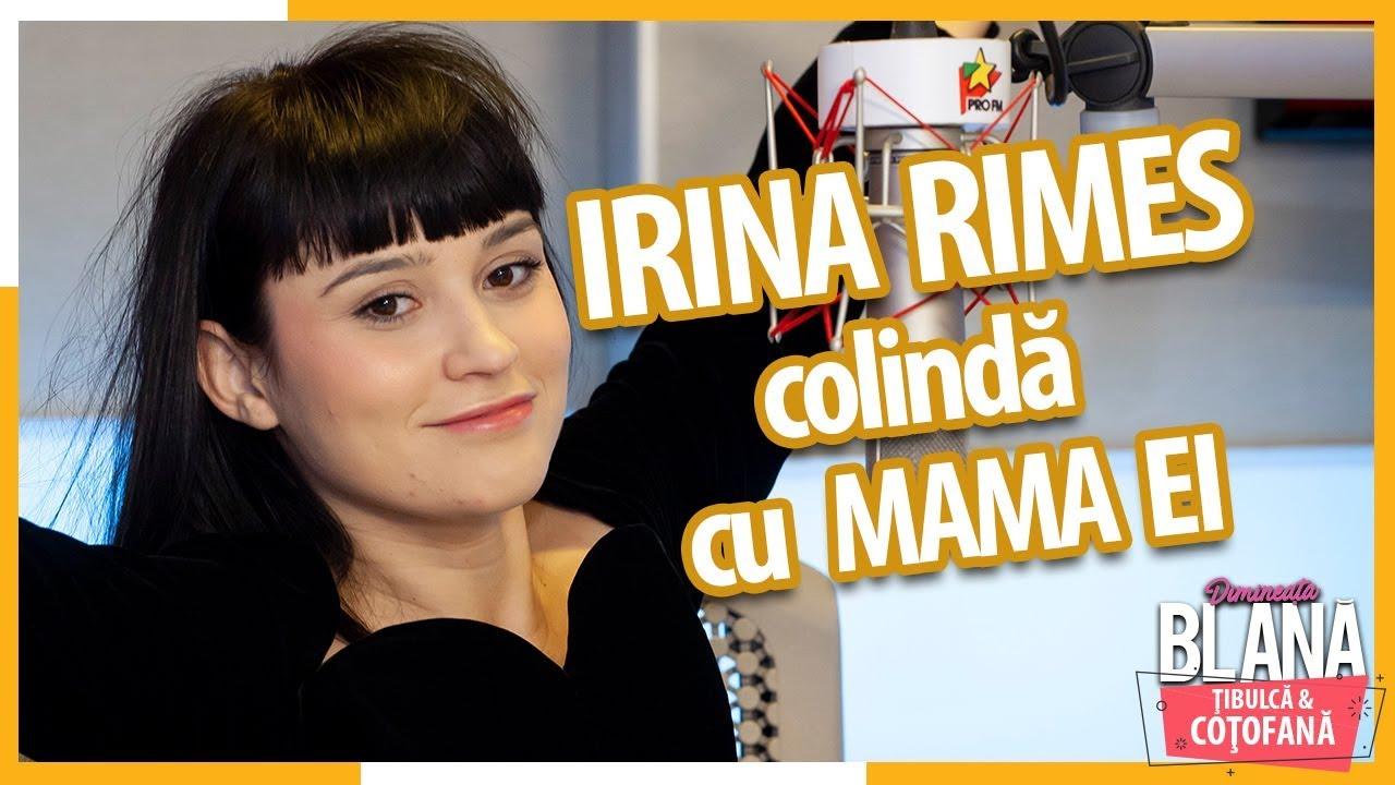 IRINA RIMES colindă cu MAMA EI la Pro FM!  | #DimineataBlana