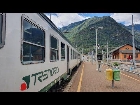 Milan to Tirano with Trenord! Europe's most scenic railway journey?