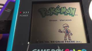 Can Pokemon Green Repro Trade With Genuine Pokemon Red And Blue?