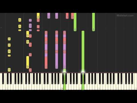 Rush - Tom Sawyer (Piano Tutorial) [Synthesia Cover]