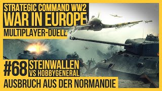 Strategic Command WW2 Wąr in Europe - Multiplayer Steinwallen #68 [Lets play   Gameplay   Deutsch]