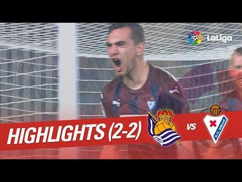 Resumen de Real Sociedad vs SD Eibar (2-2)