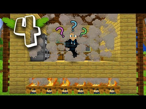 HUSET BRÆNDER PRANK!? Minecraft Prank Wars #4