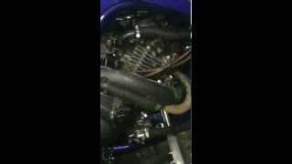 Стук двигателя 2 Yamaha Raptor YFM 660R