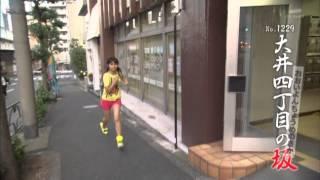 東京都 品川区 大井 品川区にある、大井四丁目の坂。 この坂もまた、実...