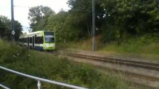 Broken down tram at Black Horse Lane