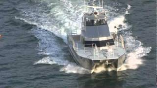 Patrol Boat Catamaran by All American Marine